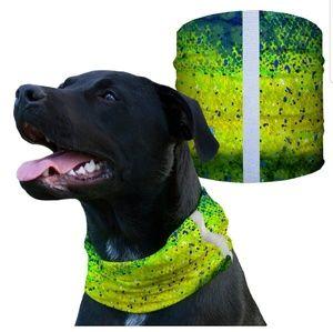 SA MAHI Dog Shield Bandana Scarf